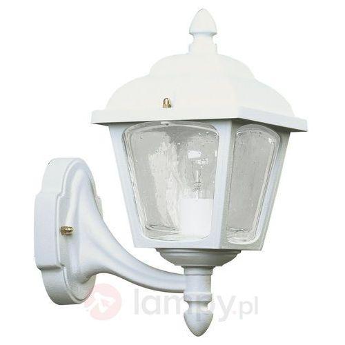 Zewnętrzna lampa ścienna landhaus 719 biała marki Albert leuchten