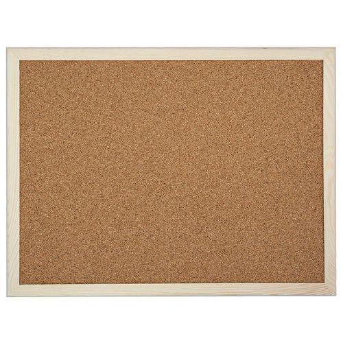 Amex Tablica korkowa drewniana 120x90 90x120 cm (5902431240114)