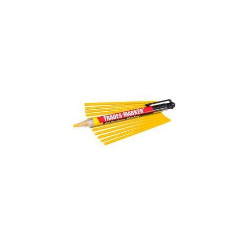 Markal Trades-Marker dermatograf + wkłady żółty