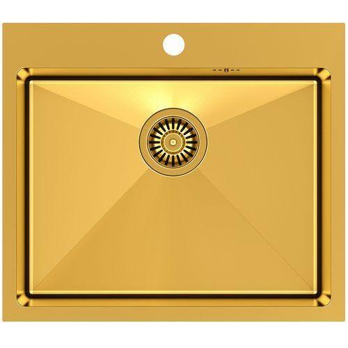 Zlewozmywak QUADRON RUSSEL 110 SteelQ PVD Złoty (5903242531132)