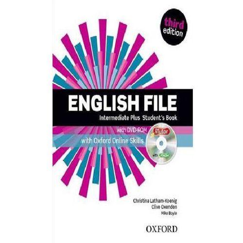 English File Intermediate Plus. Podręcznik + DVD + Online Skills, oprawa miękka