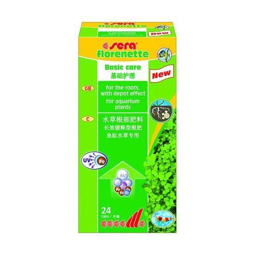 SERA Florenette A - nawóz mineralny dla roślin akwariowych 24tabl.