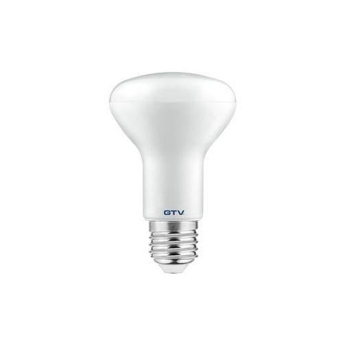 Gtv Żarówka led e27 8w 650lm 3000k ciepły biała smd2835 70ma 40000h lampa led ld-r6380w-30 3436