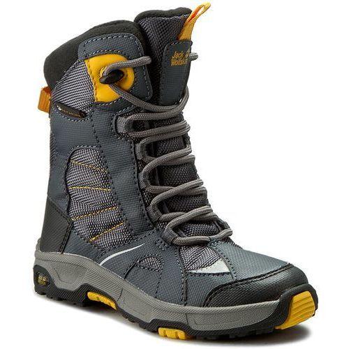 Śniegowce JACK WOLFSKIN - Boys Snow Ride Texapore 4012042 Burly Yellow XT S