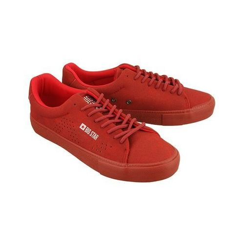 aa274761 czerwony micro, półtrampki młodzieżowe marki Big star