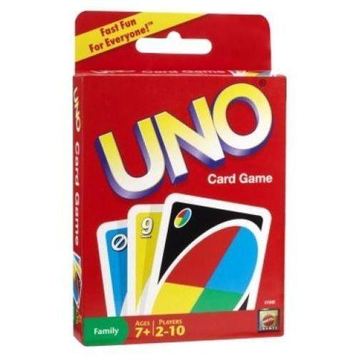 Mattel Gra karciana Uno 746775036720 - produkt z kategorii- Gry dla dzieci