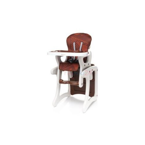 krzesełko do karmienia fashion brązowe marki 4baby