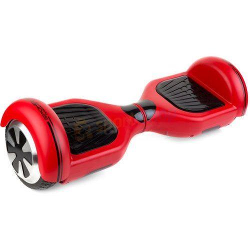 Deskorolka elektryczna hooverboard Mover Spokey czerwona