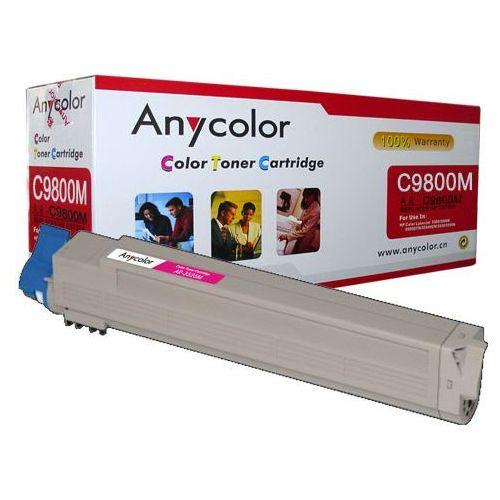 Anycolor Toner oki c9600 c9650 c9800 c9850 zamiennik magenta 15k