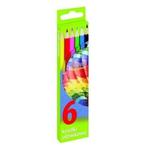 Grand Kredki ołówkowe sześciokątne 6 kolorów (sz) (5903364244996)