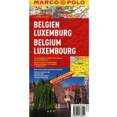 Belgia Luksemburg mapa 1:300 000 Marco Polo, pozycja wydana w roku: 2008