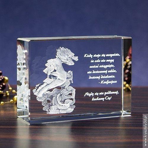 Smok Orientu 3D • personalizowany kryształ 3D • GRAWER 3D GRATIS!