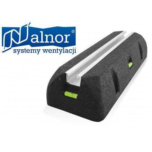 Stopa (podpora) antywibracyjna dachowa z szyną montażową 1000mm (ST-ROF-AWL-STR-1000)