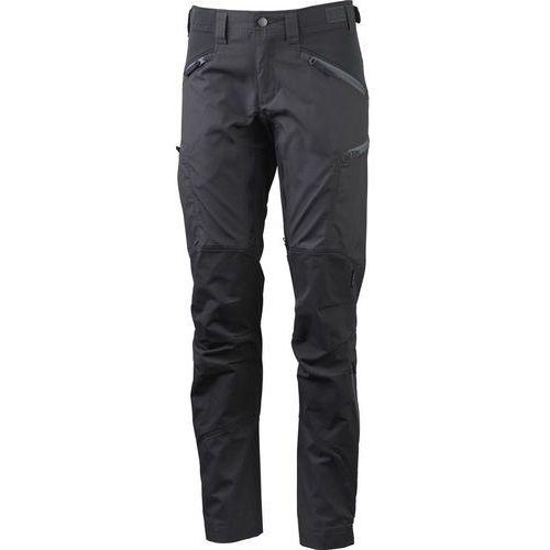 makke spodnie długie kobiety regular szary 38-standardowe 2018 spodnie turystyczne marki Lundhags