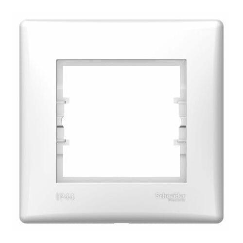 Ramka pojedyncza Schneider Sedna SDN5810521 IP44 biały, kolor biały