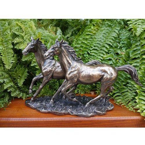 Rzeźba wspaniałe konie w galopie - (wu76436a4) marki Veronese