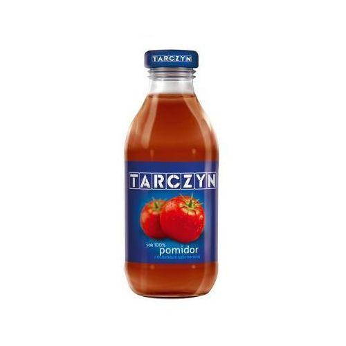 Tymbark Sok pomidor 100% z dodatkiem soli morskiej 300 ml tarczyn (5901067402484)