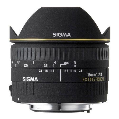 Obiektyw 15 f2.8 ex dg fisheye mocowanie nikon marki Sigma