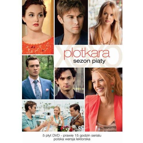 Plotkara, sezon 5 (DVD) - Mark Piznarski, Norman Buckley (7321909321793)
