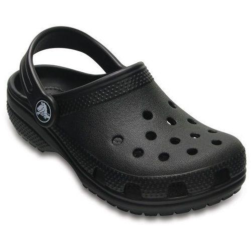Crocs CLASSIC Sandały kąpielowe black, kolor czarny