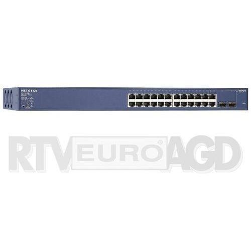 Netgear 24Port Switch 10/100/1000 GS724TP (0606449119244)