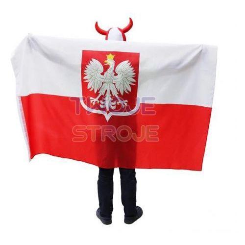 FLAGA POLSKI Z GODŁEM 120x180 cm