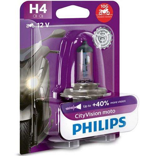 Żarówka motocyklowa h4 cityvision moto | blister 1 szt. marki Philips®