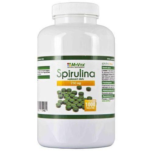 MyVita Spirulina 250mg 1000 tabletek (5903111710460). Najniższe ceny, najlepsze promocje w sklepach, opinie.