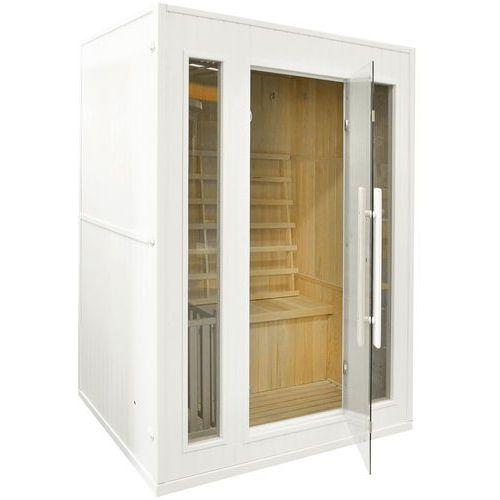 Sauna fińska z piecem E3 biała 416693 (5902425322383)