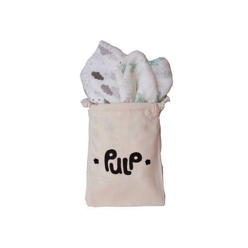 Pieluchy w dwupaku roz. 75x75cm 5o35bb marki Pulp