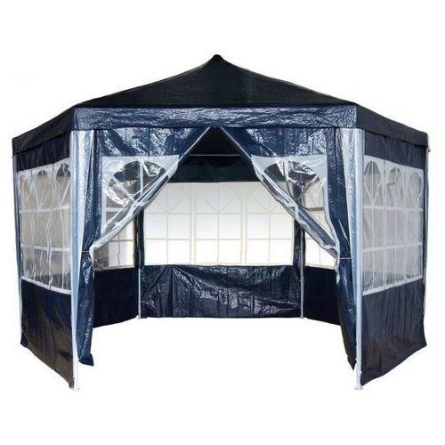 Mks Pawilon namiot ogrodowy handlowy 6 ścianek - niebieski