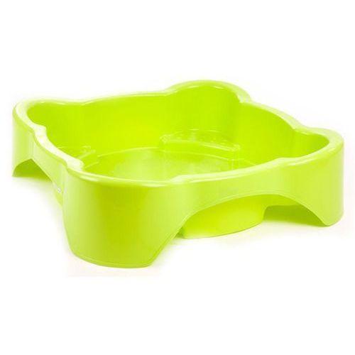 Marian plast piaskownica, zielony