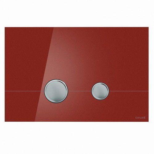 CERSANIT przycisk Stero szkło czerwone K97-371, K97-371