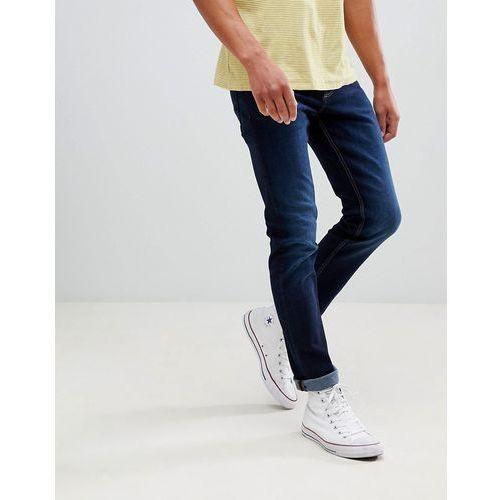 slim jeans in indigo wash - navy marki New look