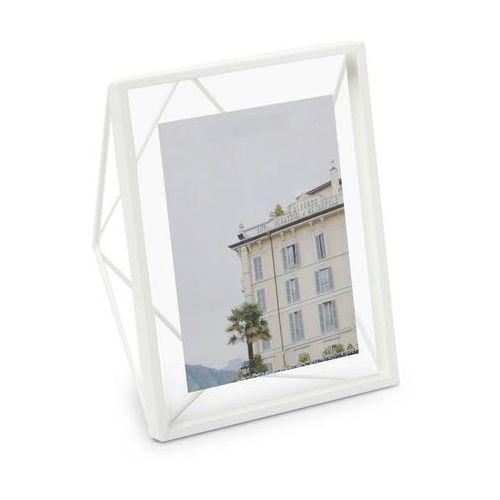 Umbra - ramka na zdjęcie prisma 30 cm - miedziana - biały