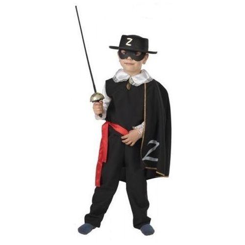 Czarny Jeździec Zorro - przebrania i kostiumy - 116 cm
