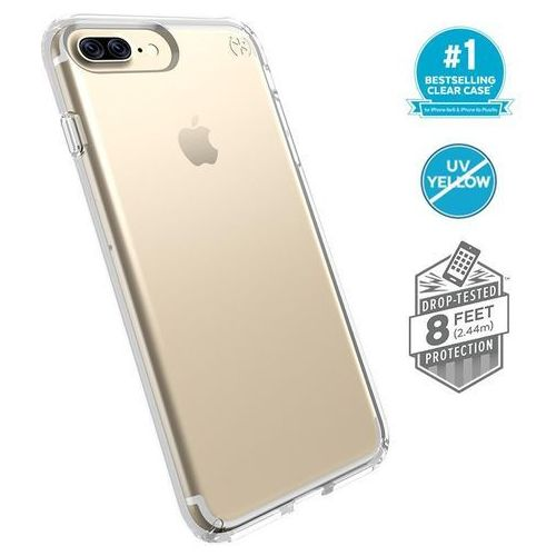 Speck Presidio Clear - Etui iPhone 8 Plus (Clear), 103124-5085.