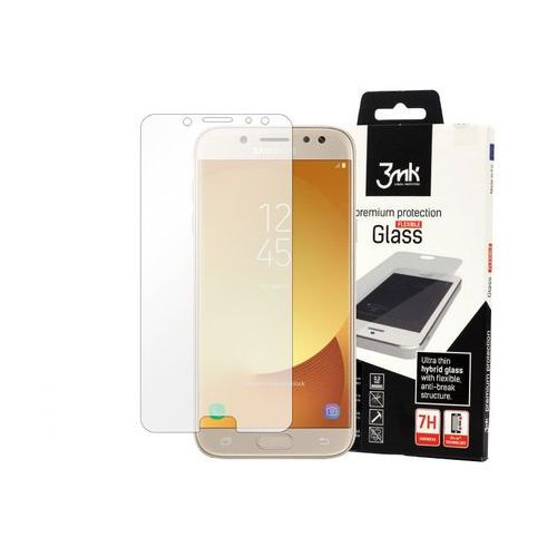 Samsung Galaxy J5 (2017) - szkło hartowane 3MK Flexible Glass, FOSM5553MFG000000