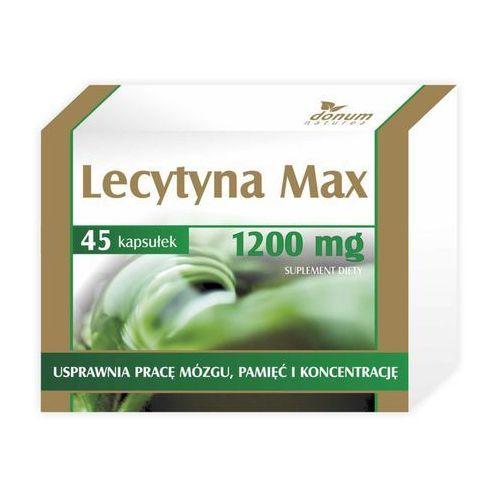 Lecytyna max x 45 kapsułek marki Donum naturea ii s.c.