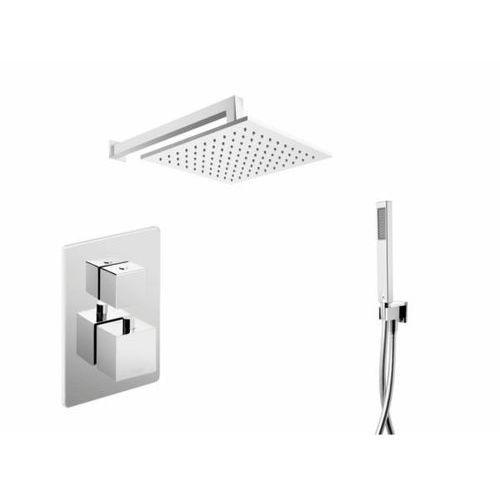 Zestaw prysznicowy podtynkowy z deszczownią CMZ018 Corsan (5902767641777)