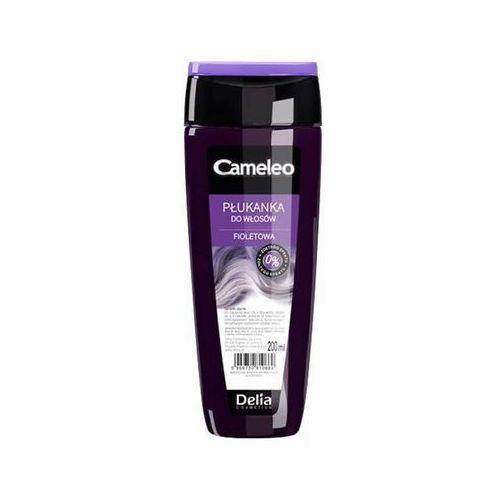 Delia Cosmetics, Cameleo. Płukanka do włosów fioletowa, 200ml - Delia Cosmetics OD 24,99zł DARMOWA DOSTAWA KIOSK RUCHU, kolor fiolet
