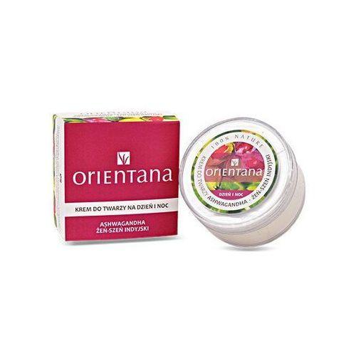 Orientana Krem do twarzy na dzień i na noc ashwagandha - żeń-szeń indyjski  50g