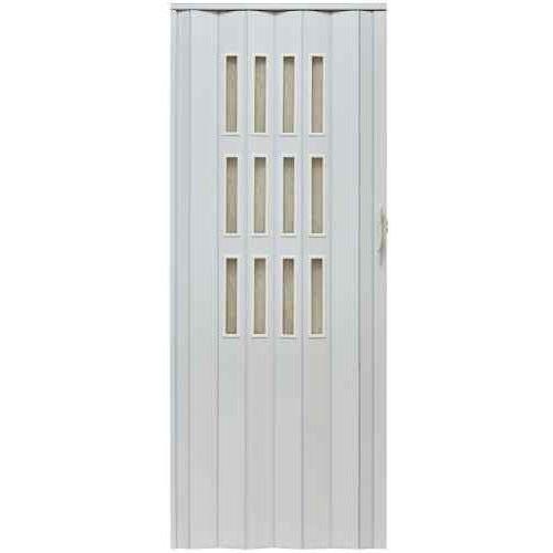 Drzwi harmonijkowe 001s 014 biały mat 80cm marki Gockowiak