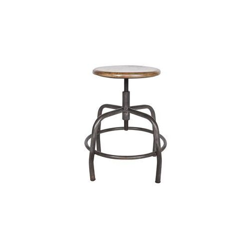 Woood stołek industrialny spider 375720 (8714713039944)