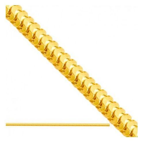 Łańcuszek złoty pr. 585 - lv005 marki Rodium
