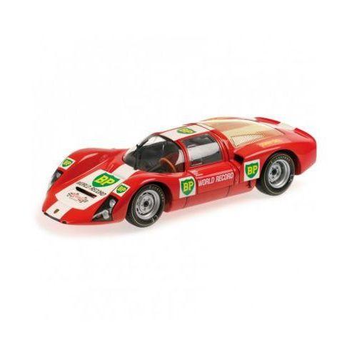 Porsche 906e bp world record runs monza 1967 - darmowa dostawa!!! marki Minichamps