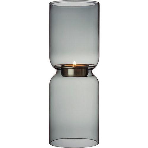 Świecznik Lantern 25 cm szary