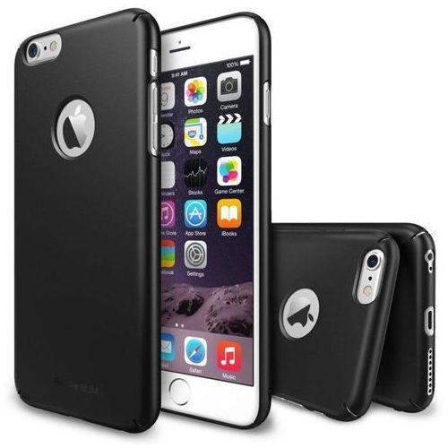 Rearth Zestaw  - obudowa ringke slim gunmetal + folia na ekran apple iphone 6 / 6s - gunmetal (8809370159859)