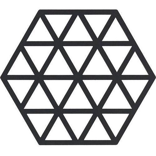Podstawka pod gorące naczynia triangles czarna