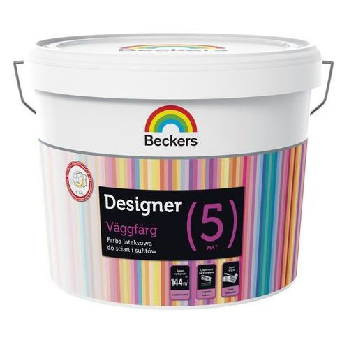 BECKERS DESIGNER HELMATT [5], farba lateksowa, baza A, 0,9 l